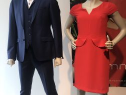 Elegantes Outfit für Mann und Frau